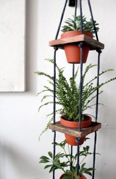 Diy indoor hanging planters 17