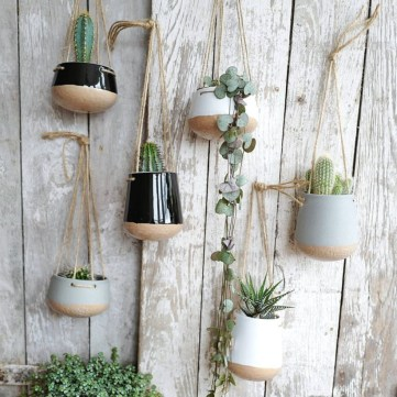 Diy indoor hanging planters 25