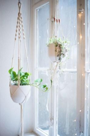 Diy indoor hanging planters 35