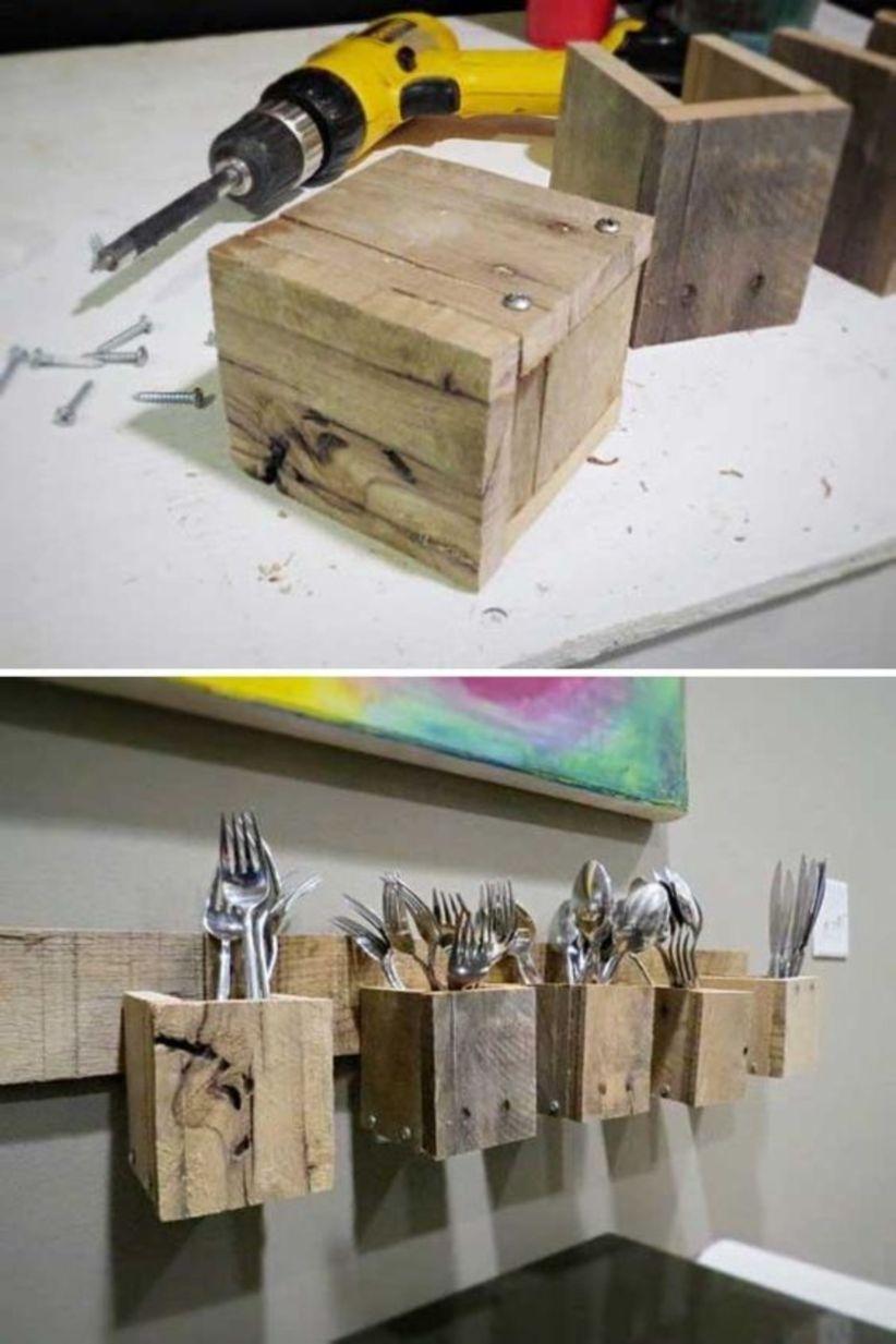 Diy kitchen pallets ideas for storage