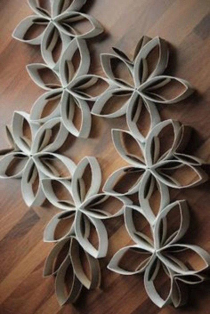 Diy paper roll wall art to beautify your home 25