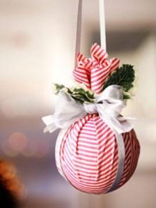 Diy ribbon ornament for christmas 23
