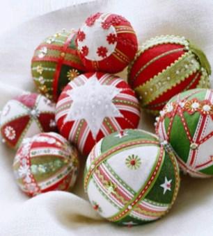 Diy ribbon ornament for christmas 40
