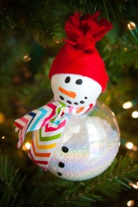 Diy snowman ornament for christmas 04
