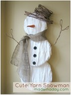 Diy snowman ornament for christmas 09