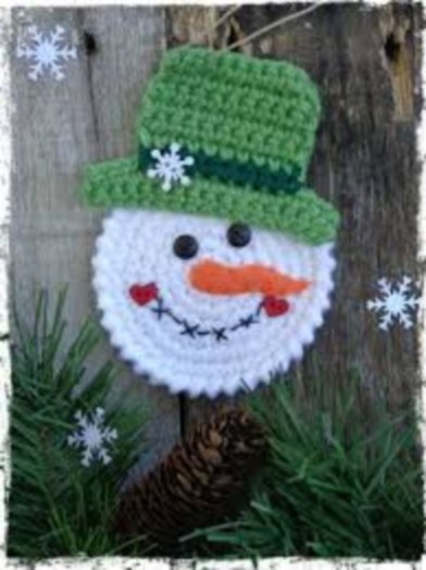 Diy snowman ornament for christmas 14