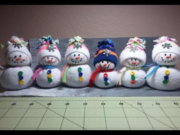 Diy snowman ornament for christmas 15
