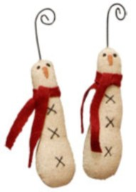 Diy snowman ornament for christmas 26