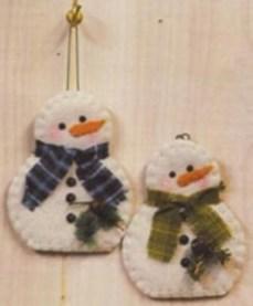 Diy snowman ornament for christmas 27