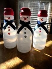 Diy snowman ornament for christmas 39