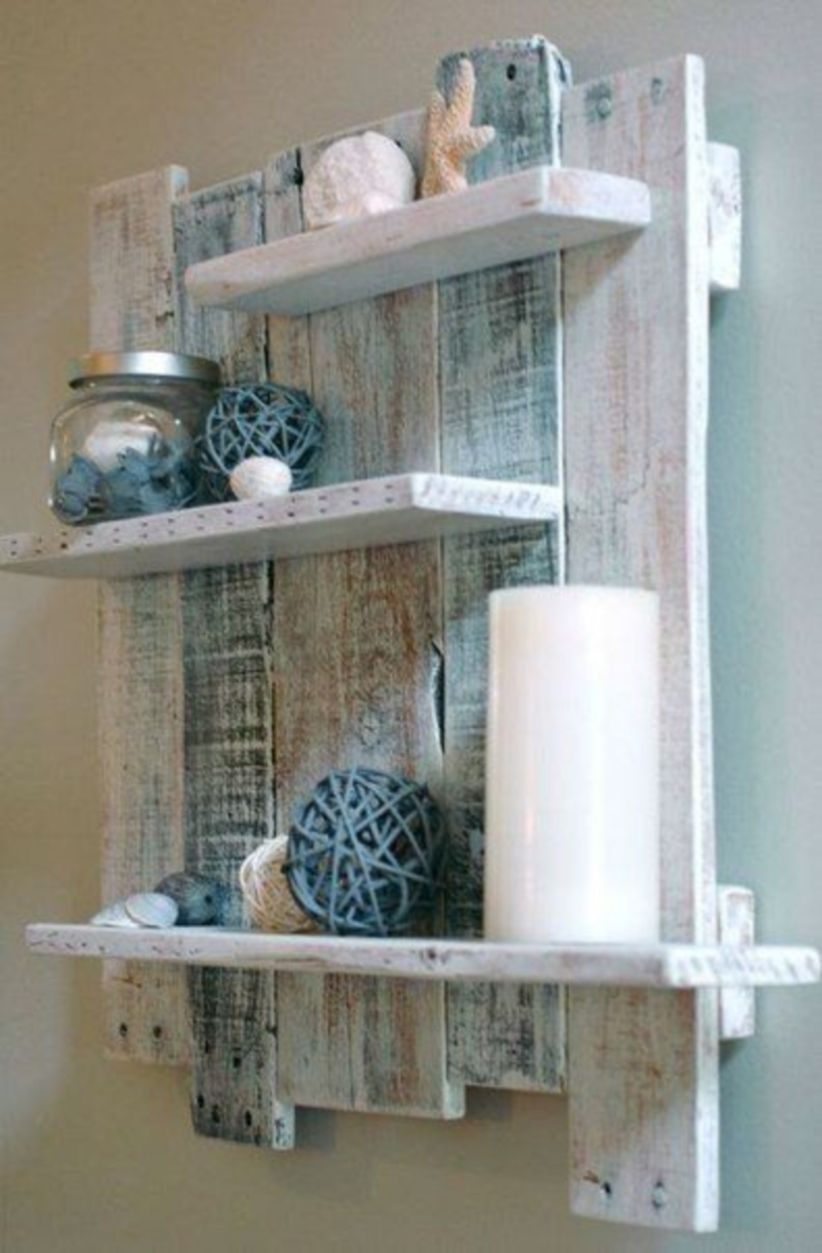Diy wood creating dimension and an inexpensive shelf