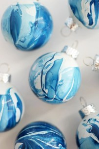 Easy but beautiful diy christmas ornaments 10