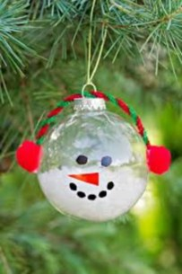 Easy but beautiful diy christmas ornaments 13