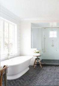 Elegant black herringbone tiles for your space 09