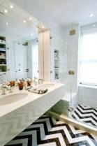Elegant black herringbone tiles for your space 19