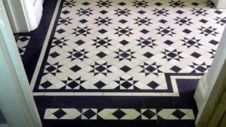 Elegant black herringbone tiles for your space 33