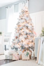 Elegant decorating ideas for white christmas 02