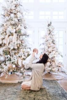 Elegant decorating ideas for white christmas 04
