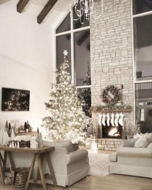 Elegant decorating ideas for white christmas 07
