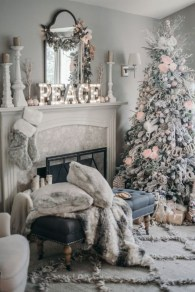 Elegant decorating ideas for white christmas 12