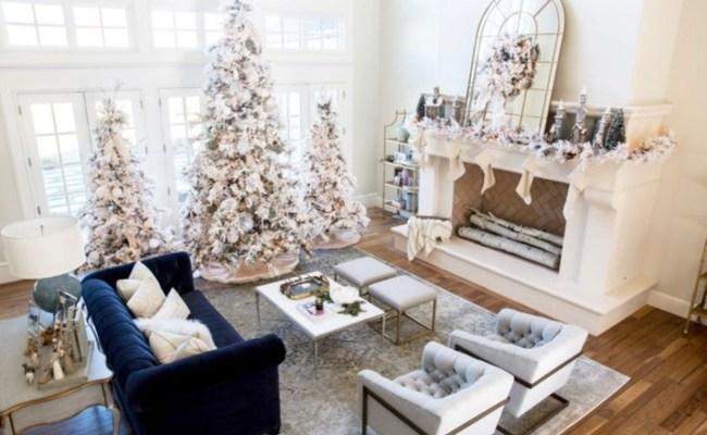 42 Elegant Decorating Ideas For White Christmas Godiygo Com
