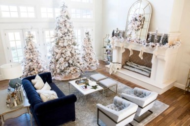 Elegant decorating ideas for white christmas 13