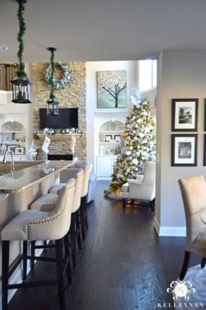 Elegant decorating ideas for white christmas 16