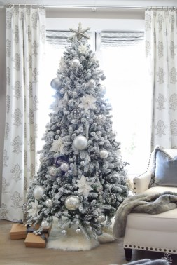 Elegant decorating ideas for white christmas 19