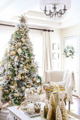 Elegant decorating ideas for white christmas 26
