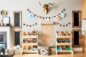 Fun and easy way to decorate your playroom (19)