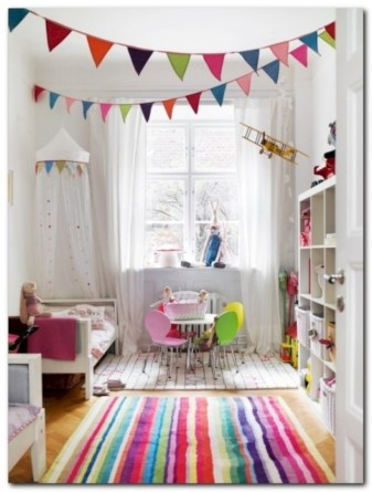 Fun and easy way to decorate your playroom (26)