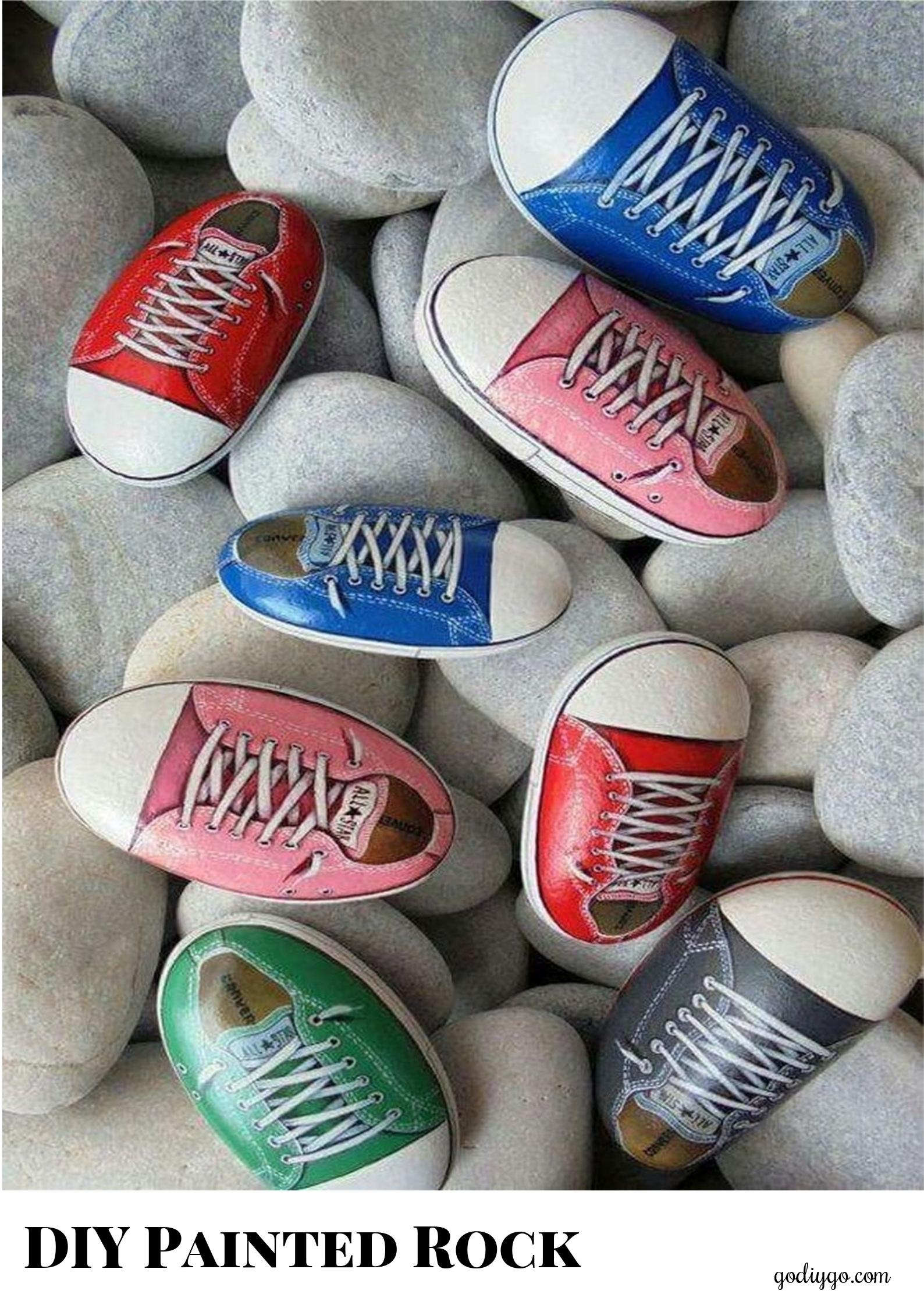 20 Incredible DIY Painted Rock Design Ideas - GODIYGO.COM on Rock Decorating Ideas  id=83781