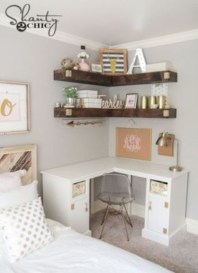 Ideas to decorate your corner space with unique corner shelf 11