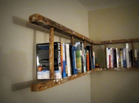Ideas to decorate your corner space with unique corner shelf 38