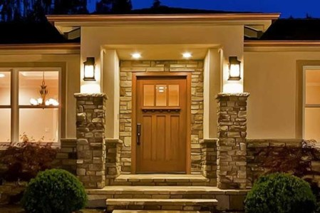 Ideas to decorate your entryway to replace porch 09