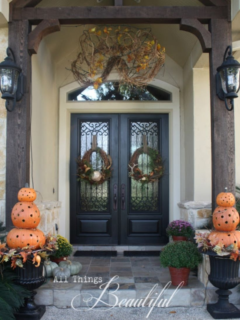 Ideas to decorate your entryway to replace porch 41