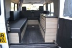 Land rover defender camper conversion
