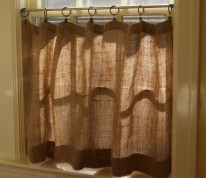 On a budget make your own curtain 02