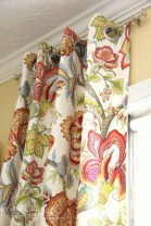 On a budget make your own curtain 23
