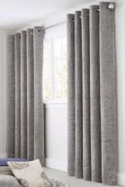 On a budget make your own curtain 25