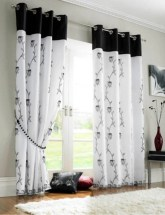 On a budget make your own curtain 29