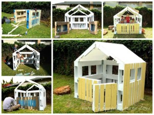 Pallet projects and ideas for kids 11