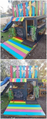 Pallet projects and ideas for kids 29