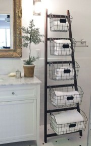 Simple and easy diy storage ideas for amazing bathroom 03