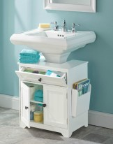 Simple and easy diy storage ideas for amazing bathroom 04
