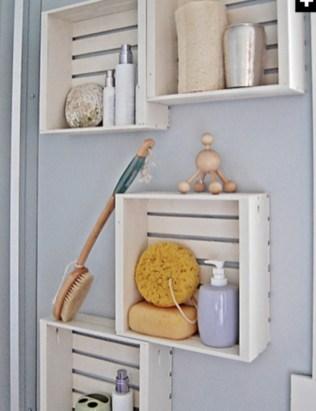 Simple and easy diy storage ideas for amazing bathroom 06