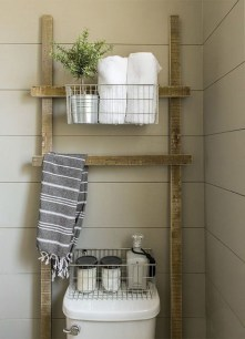 Simple and easy diy storage ideas for amazing bathroom 07
