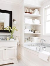 Simple and easy diy storage ideas for amazing bathroom 16