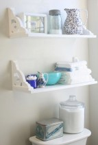 Simple and easy diy storage ideas for amazing bathroom 23