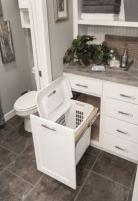 Simple and easy diy storage ideas for amazing bathroom 33